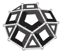 Geomag Black & White 68 pièces-Avant