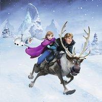 Ravensburger puzzel 3-in-1 Disney Frozen Avontuur in winterland-Vooraanzicht