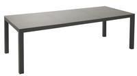 Table de jardin Maurs anthracite L 237 x Lg 99,5 cm
