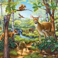 Ravensburger puzzle 3 en 1 Animaux-Détail de l'article