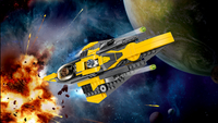 LEGO Star Wars 75214 Anakin's Jedi Starfighter-Afbeelding 1