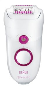 Braun Epileertoestel Silk-épil 5 Power Legs & Body 5187 Music Edition
