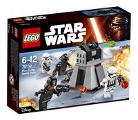 LEGO Star Wars 75132 First Order Battle Pack-Vooraanzicht