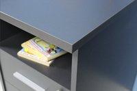 Germania Bureau 3 schuiven/1 deur anthraciet-Artikeldetail