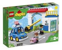 LEGO DUPLO 10902 Politiebureau-Linkerzijde