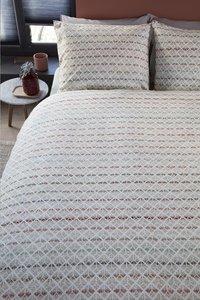 Beddinghouse Dekbedovertrek Woven Lines katoen 240 x 220 cm-Afbeelding 2