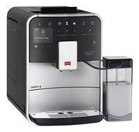 Melitta Volautomatische espressomachine met melkopschuimer Barista Smart T F830-101 zilver/zwart-Linkerzijde