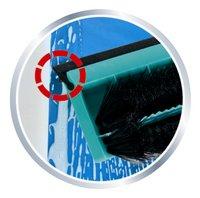 Leifheit Click nettoyeur de vitres 2 en 1 avec manche télescopique-Détail de l'article