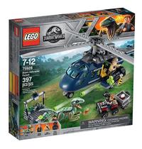 LEGO Jurassic World 75928 Helikopterachtervolging van Blue-Linkerzijde