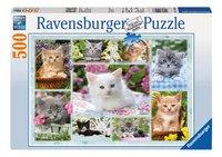 Ravensburger puzzel Poesjes in hun mandje-Vooraanzicht