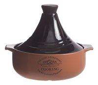 Cosy & Trendy Tajine bruin/terracotta 25 cm - 2,5 l