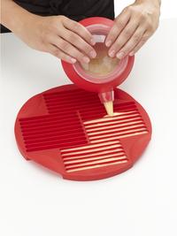 Lékué Bakvorm voor 30 soepstengels rood-Afbeelding 2