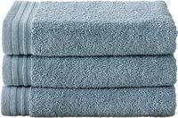 De Witte Lietaer 3 handdoeken 50 x 100 cm Imagine blauw