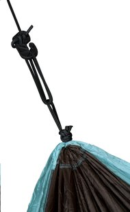 La Siesta hamac Colibri 2 personnes noir/turquoise-Détail de l'article