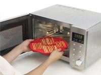 Lékué Bakvorm voor 30 soepstengels rood-Afbeelding 3