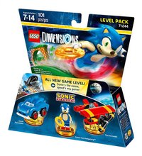 LEGO Dimensions Sonic The Hedgehog 71244 level pack ENG/FR-Vooraanzicht
