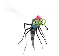 The Bug Watch antimug armband Midnight Black-Afbeelding 2
