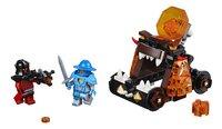 LEGO Nexo Knights 70311 Chaos katapult-Vooraanzicht
