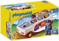 Playmobil 1.2.3 6773 Autocar de voyage