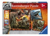 Ravensburger puzzel 3-in-1 Jurassic World Fallen Kingdom-Vooraanzicht