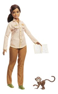 Barbie poupée mannequin  Careers National Geographic Garde-chasse-commercieel beeld