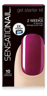 SensatioNail Kit de démarrage raspberry wine