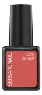 SensatioNail Gel Polish Coral Sunset-Vooraanzicht
