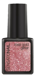 SensatioNail Gel Polish Rose Gold Glitter-Avant