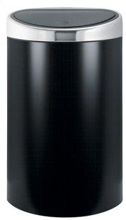 Brabantia poubelle Touch Bin 40 l noir mat
