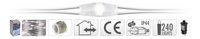 Guirlande lumineuse microLED 240 lampes blanc froid-Détail de l'article