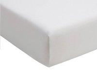 Romanette Hoeslaken wit double jersey 90 x 200 cm-commercieel beeld
