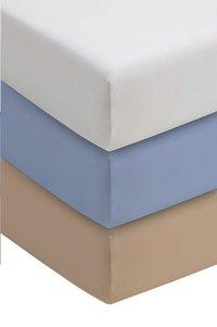 Romanette Hoeslaken wit double jersey 90 x 200 cm-Afbeelding 1
