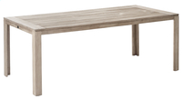 Table de jardin Belmont Grey Wash 210 x 100 cm