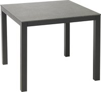 Suns Blue Table de jardin Bonito anthracite L 90 x Lg 90 cm