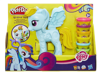 Play-Doh Mon Petit Poney Rainbow Dash Salon branché-Avant