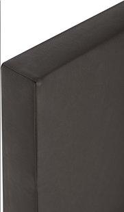 Vaste boxspring Farao lederlook bruin 180 x 200 cm-Artikeldetail