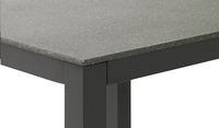 Suns Blue Table de jardin Bonito anthracite L 90 x Lg 90 cm-Détail de l'article