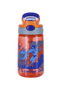 Contigo gourde Gizmo Flip Tangerine W/Superhero 420 ml