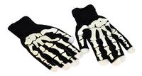 Goodmark gants de squelette avec doigts lumineux