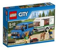 LEGO City 60117 La camionnette et sa caravane