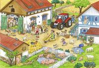 Ravensburger puzzel 2-in-1 Vrolijk boerderijleven-Artikeldetail