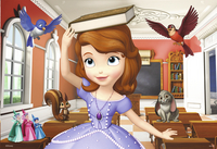 Ravensburger puzzel 2-in-1 Disney Sofia the First-Artikeldetail