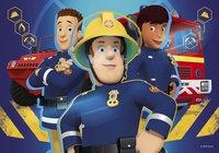 Ravensburger puzzel 2-in-1 Brandweerman Sam - Sam helpt je uit de brand-Vooraanzicht