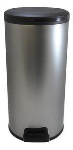 Curver Ronde pedaalemmer Decobin zilver 30 l