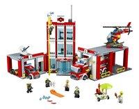 LEGO City 60110 La caserne des pompiers-Avant
