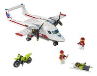 LEGO City 60116 L'avion de secours-Avant