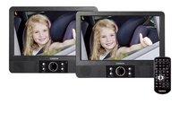 Lenco draagbare dvd-speler DVP-404 9 inch zwart