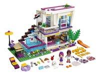 LEGO Friends 41135 La maison de la pop star Livi-Avant