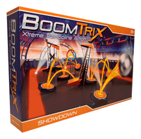 BoomTrix Xtreme Trampoline Action Showdown Set-Côté gauche