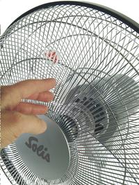 Solis Ventilateur sur pied Fan-Tastic 750 argenté-Image 1